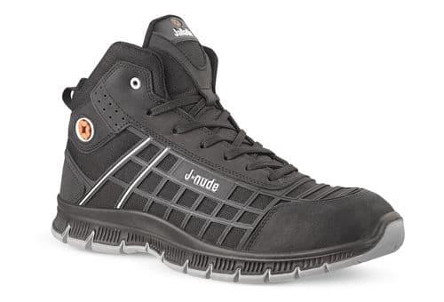 Jallatte Jalrei JNU29 Safety / Work Black Boots